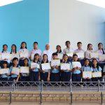 พิธีมอบเกียรติบัตรนักเรียนที่ได้รางวัลโครงการธรรมะทางก้าวหน้า