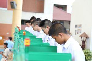 กิจกรรมเลือกตั้งสภานักเรียน ปีการศึกษา 2561