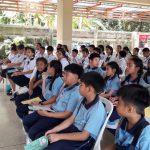 นักเรียนเข้าร่วมโครงการผู้นำนักเรียนส่งเสริมสุขภาพ ปี 2562